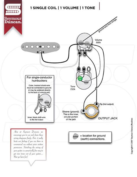 Gibson Humbucker 1 Tone Wiring Diagram Vol by Wiring Diagrams Seymour Duncan Seymour Duncan Cigar