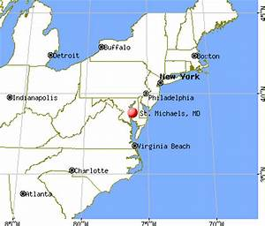 St. Michaels, Maryland (MD 21663) profile: population, maps, real estate, averages, homes ...