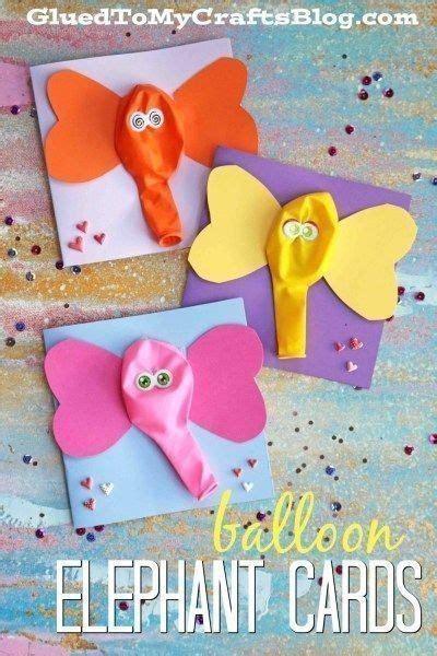 elephant card  balloons  invitationstk