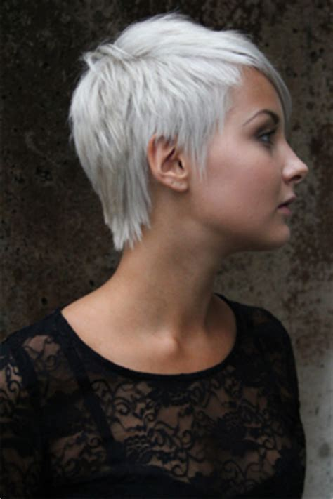 White Hair Pictures by Pixie Cropped Hairstyles Hair Colors Ideas
