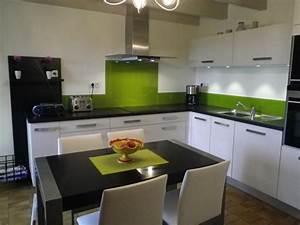 Cuisine verte et blanche for Cuisine verte et blanche