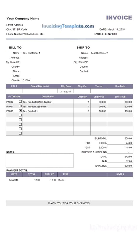 payment invoice template invoice and payment invoice template ideas