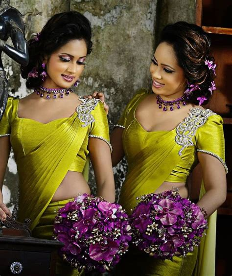 sri lankan fashion by chamil udayanga saree b s saree sari saree blouse