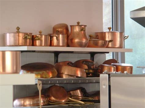 stainless steel  copper cookware