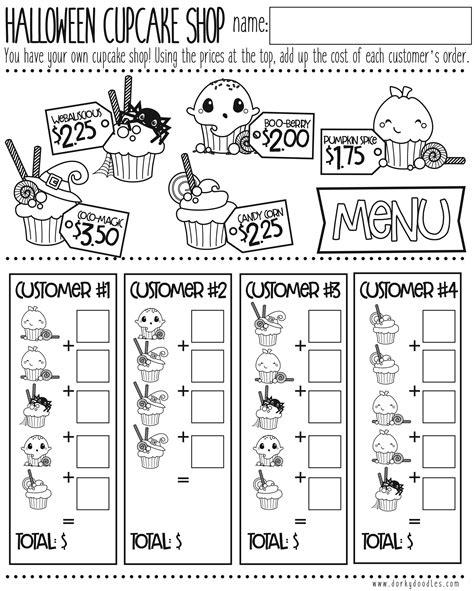 cupcake math worksheet cialiswowcom