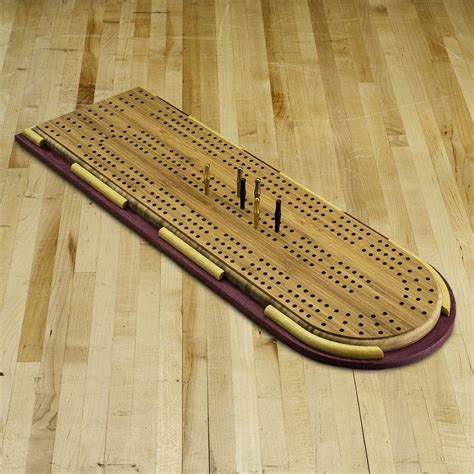 xl cribbage board templates  player curved track