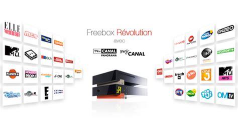 cuisine canalsat tout savoir sur l 39 offre freebox révolution avec tv by canal panorama free aktu