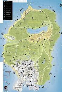 Game Map: Grand Theft Auto V - Atlas View | Maps ...