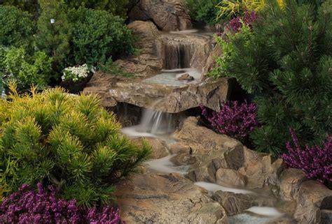 Gartenteich Mit Bachlauf Anlegen 2251 by Bachlauf Wasserfall Steinoptik Set 2 Elemente Gro 223
