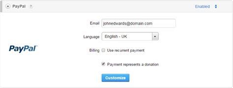 guide to create your paypal donation form for your website