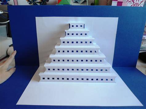 plantilla kirigami edificios kirigamis monumentos do mundo expo 2012 quilling pinterest