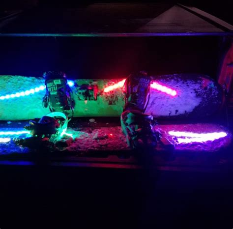 snowboard led lights third beyond be seen be safe with ultra bright