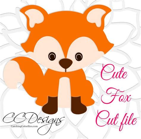 Svg (scalable vector graphics) file is a vector image format file, which is developed in xml (extensible markup language). Cute Baby Fox SVG & DXF Cutting Files PNG Baby Fox Clip Art