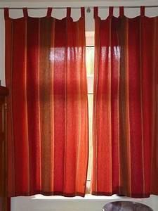 Vorhänge Und Rollos : 2 vorh nge schals rot und terracotta sch ner indischer stoff in m bel wohnen rollos ~ Sanjose-hotels-ca.com Haus und Dekorationen