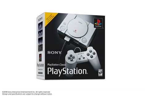 sony announces playstation classic mini console gaming age