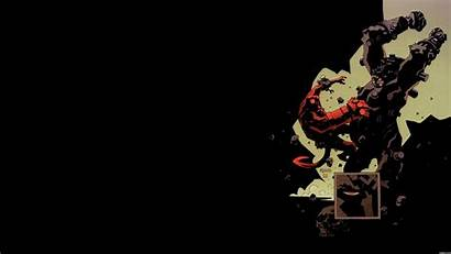 Comic Hellboy Wallpapers Comics Desktop Iphone Awesome
