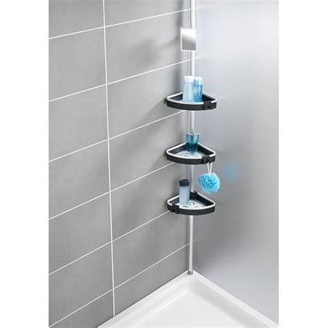 etagere telescopique cuisine etagère de télescopique wave aménagement de la salle de bain organisation de la