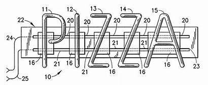 Neon Sign Patents Patent Drawing