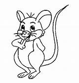Mouse Coloring Pages Printable sketch template