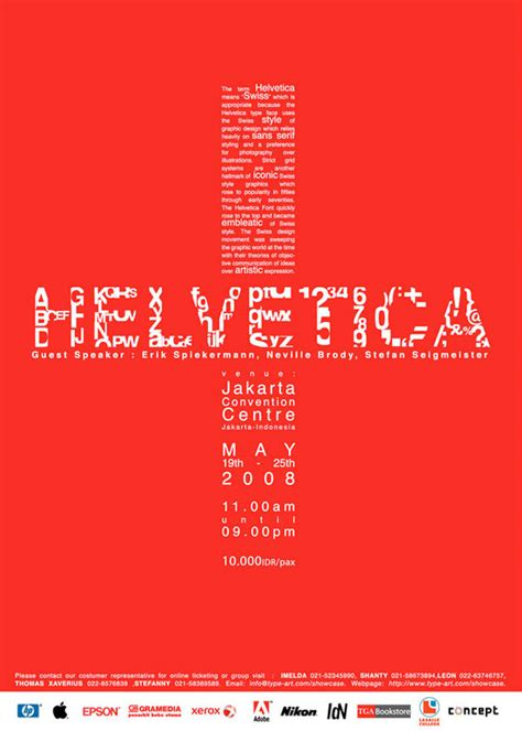 30 amazing typography posters protype