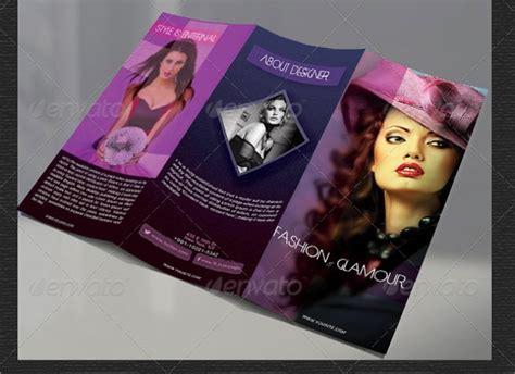 fashion design brochures vector eps psd