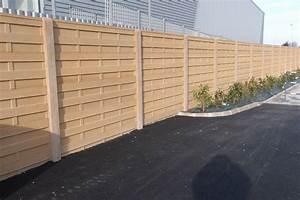 Cloture Beton Imitation Bois : inou cloture beton imitation bois renaa conception ~ Dailycaller-alerts.com Idées de Décoration