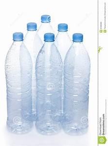 Botellas De Agua Vacías Foto de archivo Imagen: 41085686