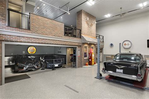retro inspired medina garage transformation gonyea