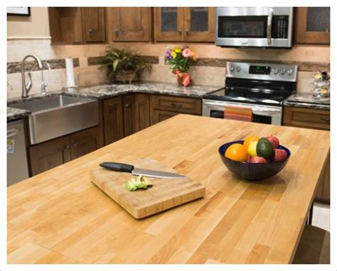 Wood Countertops, Butcher Block Countertops At Lowe's