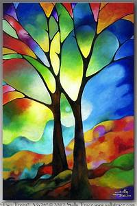 50 Glass Painting Pattern Ideas and Designs