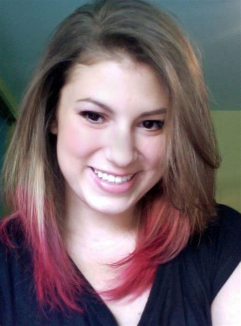 How To Dip Dye Your Hair At Home Editor Dip Dyed And