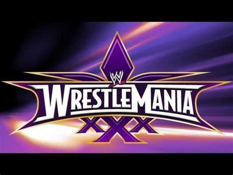 Wrestlemania 4 Logos