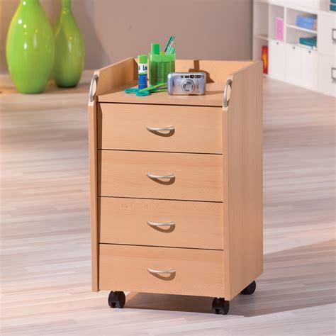caisson tiroirs bureau caisson de bureau 4 tiroirs quot quot hêtre
