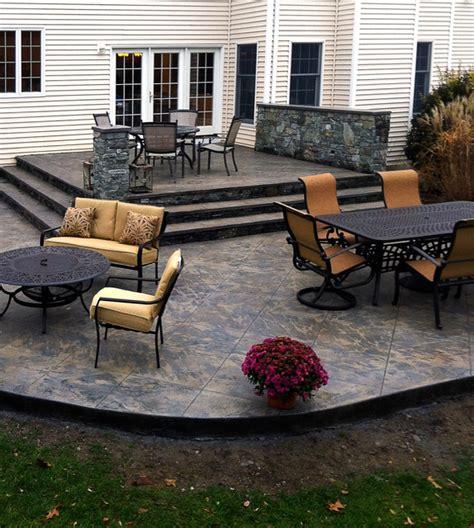 award winning patio designs 2013 decorative concrete award winning design traditional patio providence by set in stone