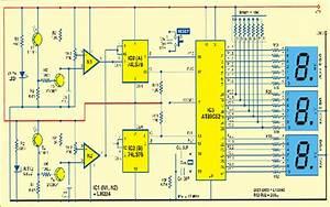 Circuit Designing  U0026 Firmware Development  Ir Sensor Based Visitor Counter