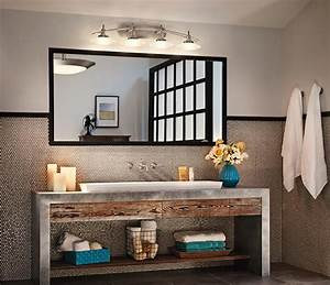creative et originale salle de bain au design industriel With salle de bain industrielle