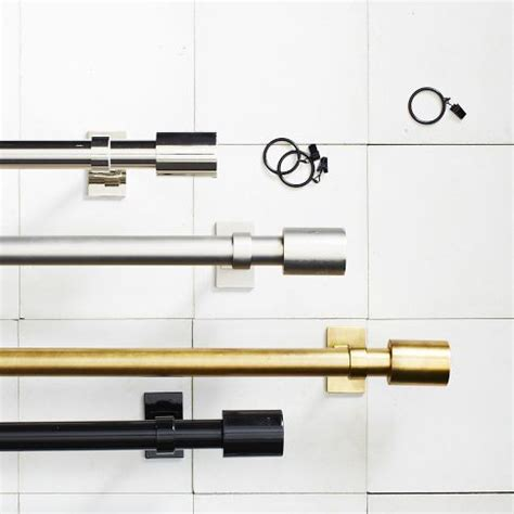 West Elm Drapery Hardware by Finally Somebody Is The Brass Rods We Ve Been