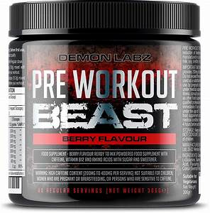 Demon Labz Pre Workout Beast Review  U2013 Muscle Mission