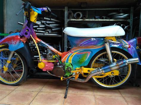 sparepart honda legenda jual knalpot racing honda c70 ulung grand prima