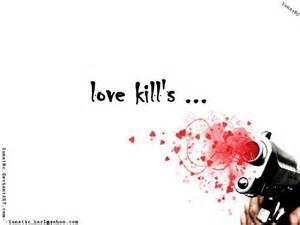 Love Kills Quotes