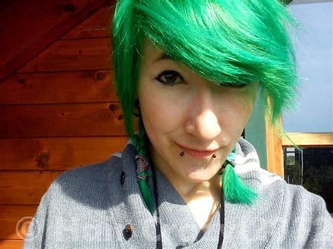 Directions Apple Green Hair Dye