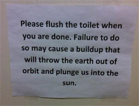funniest bathroom notes youll   day  pics