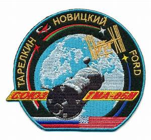 Soyuz TMA-06M Embroidered Mission Patch