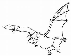 Fledermaus Wuschels Malvorlagen