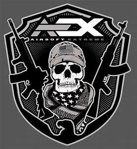 New AEX Skull T-Shirts   Popular Airsoft