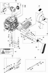 Husqvarna Fs520  U0026 Fs524 Engine  U0026 Idler 20  U0026 24hp