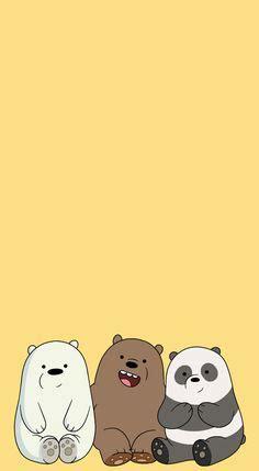Aesthetic Lock Screen We Bare Bears Wallpaper by We Bare Bears Iphone Wallpapers Bare Bears