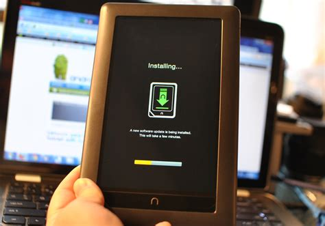 nook for android nook color updated to version 1 2 gets froyo apps e