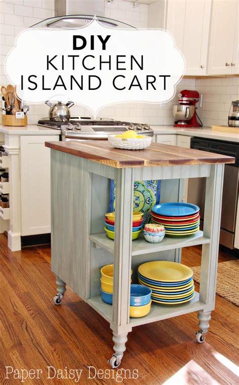 how do you build a kitchen island diy kitchen island cart