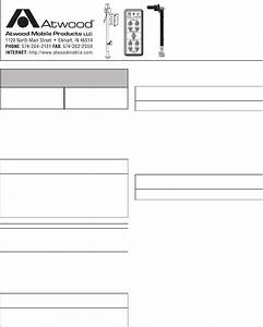 Download Atwood Mobile Products Universal Remote Mpd 87903